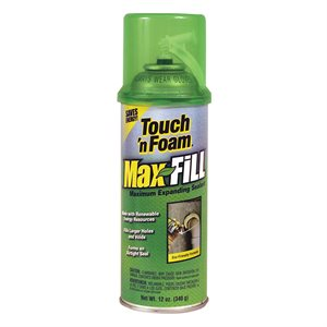 TOUCH'N FOAM SCELLANT MOUSSE EXPANSION MAXIMALE