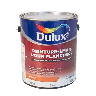 DULUX - PEINTURE PLANCHER À BASE D'EAU SATIN - 3,78L